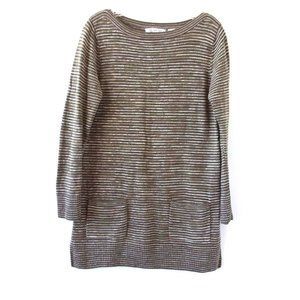 Eight Eight Eight Striped Tunic Sweater